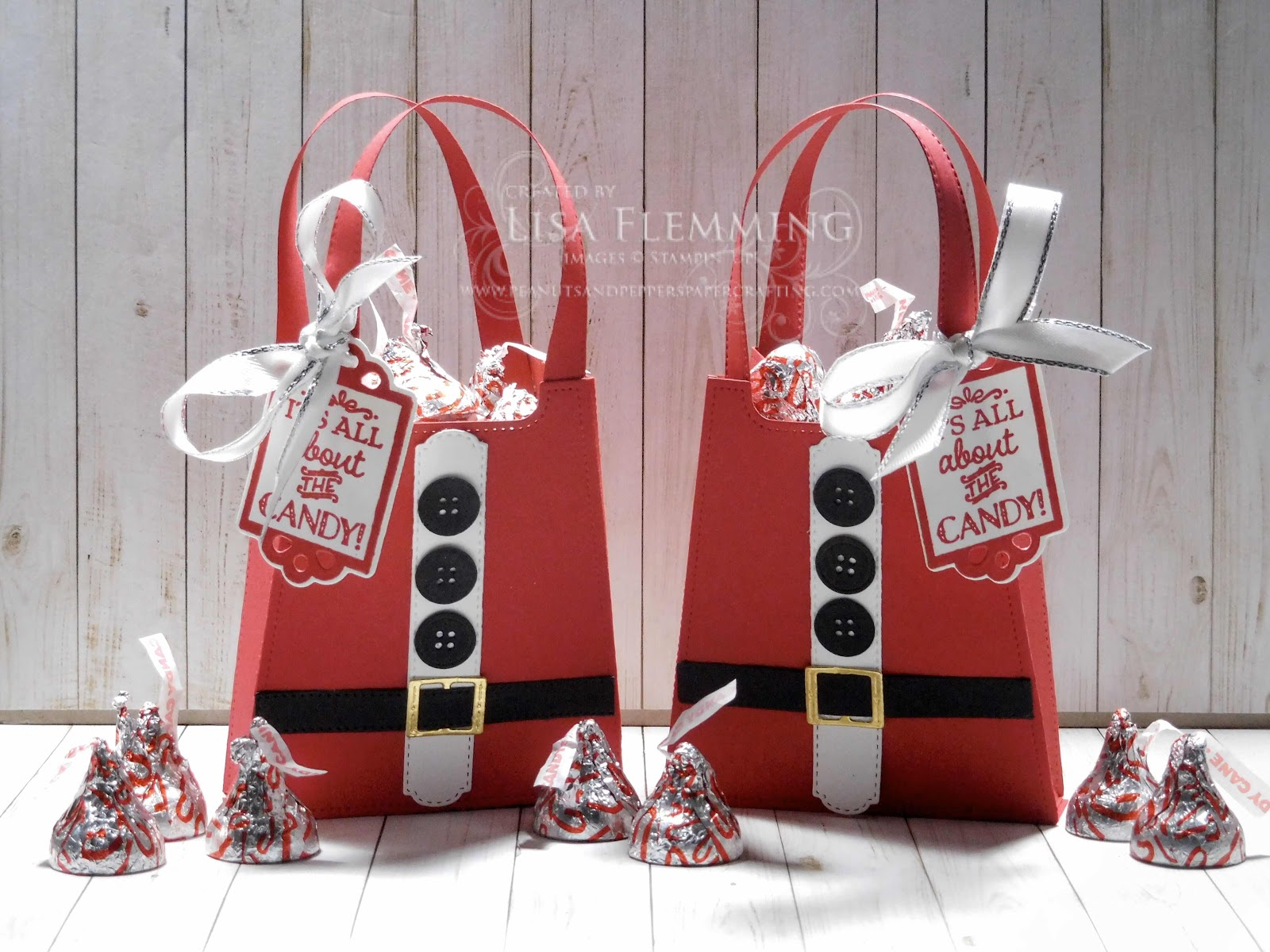 All Dressed Up Santa Treat Boxes