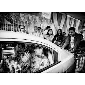 Bidai 2 by Pranab Sarkar - Wedding Other ( bengali, wedding, black and white, india, indian wedding )