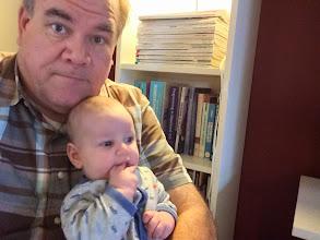 Photo: 12/21 - I meet the latest grandbaby Jay Thomas Hofer!