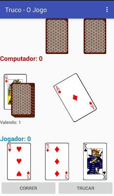 Truco O Jogo - screenshot
