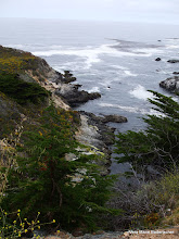 Photo: Land meets water, Big Sur