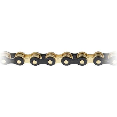 """Izumi ECO 1/8"""" Chain, Jet Black/Gold"""