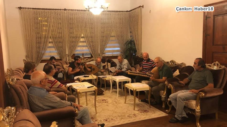 Çankırı Yazarlar ve Sanatçılar Derneği ÇAYASAD Musiki ekibi