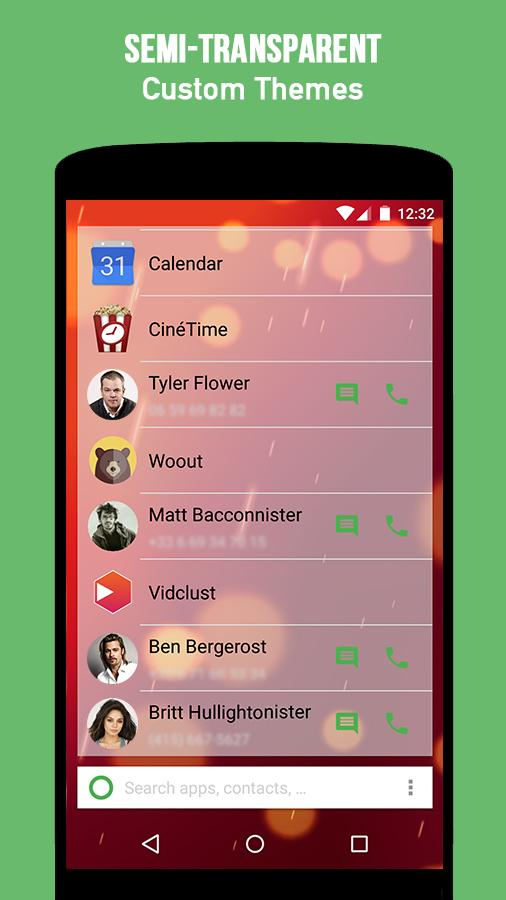 KISS Launcher- screenshot