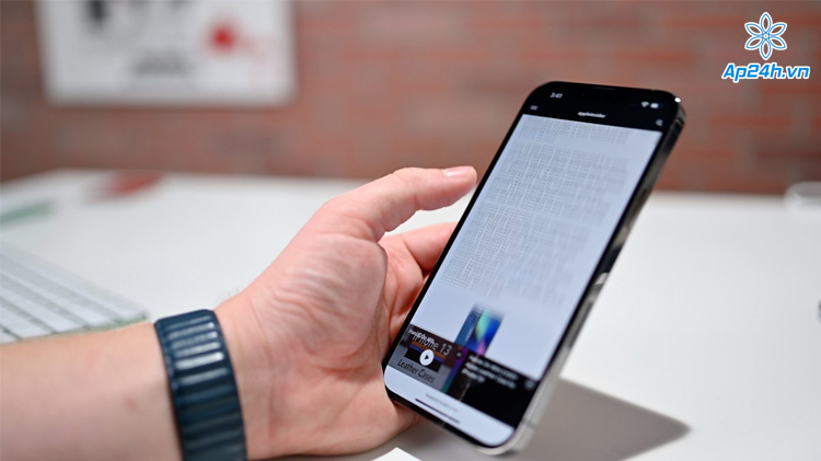 Hiệu suất và tuổi thọ pin ở iPhone 13 Pro Max gây ấn tượng mạnh mẽ