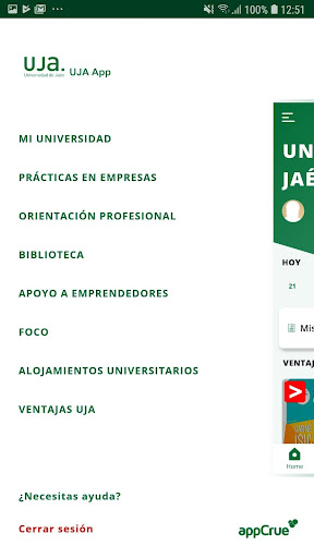 La App oficial de la Universidad de Jaén screenshot 5