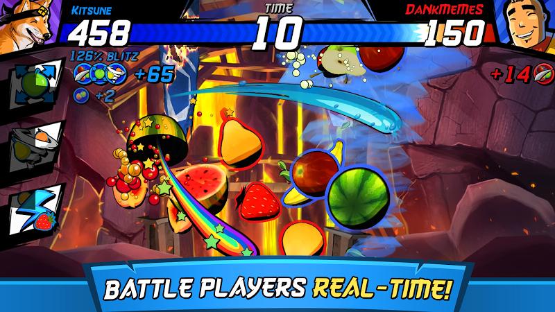 Download Fruit Ninja Fight Cheat APK MOD