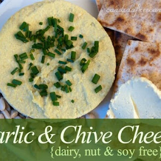 Garlic and Chive Cheese (Dairy and Soy Free)