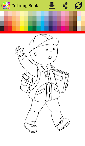 Coloring Book For Cailo
