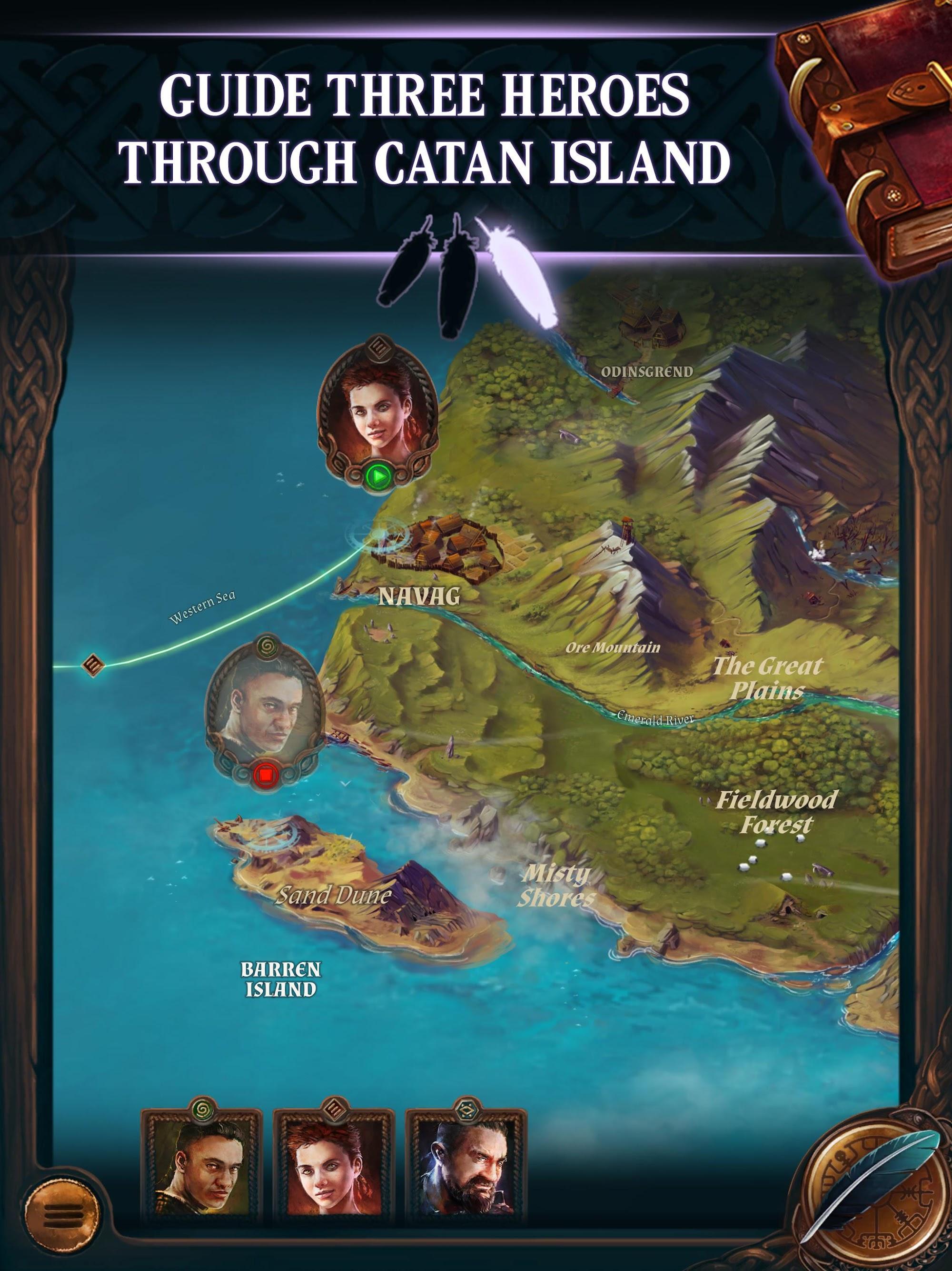 Catan Stories: Legend of the Sea Robbers screenshot #9