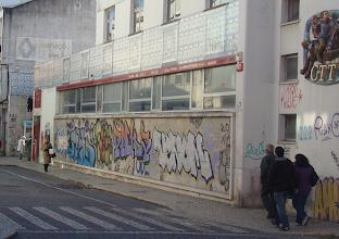 Photo: Os graffiti não contribuem para a boa imagem da cidade