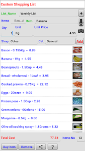 Recipe and Shopping List screenshot 13