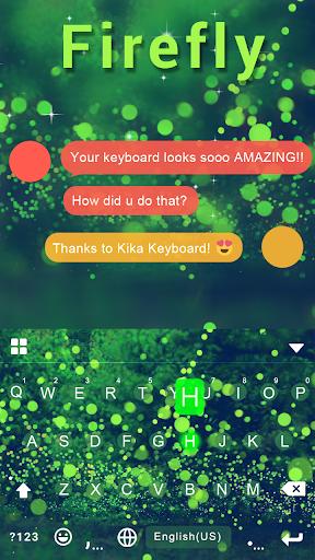 Firefly Emoji Keyboard Theme