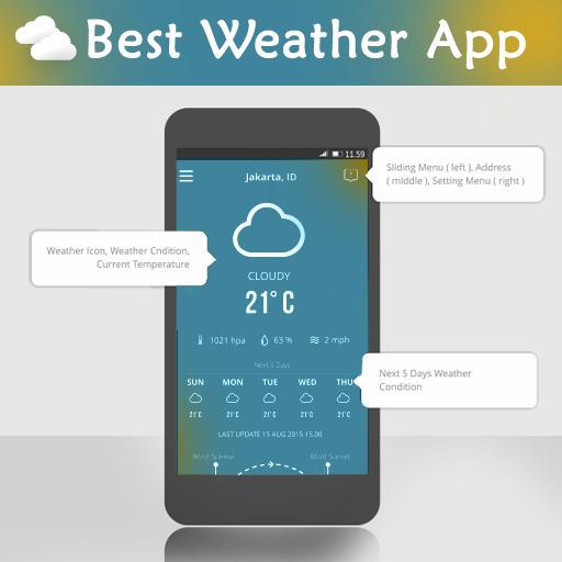 Best Weather App 天氣 App LOGO-APP開箱王
