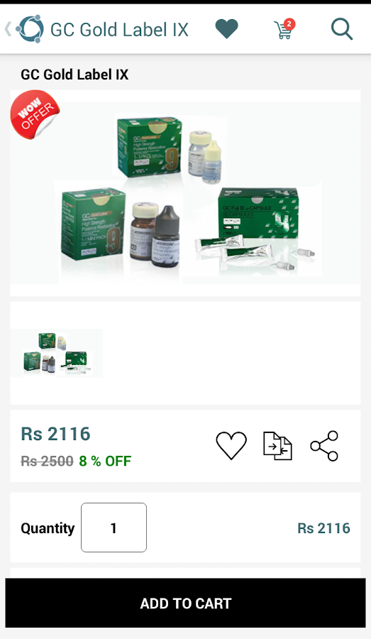 Trisco Dental&Medical Supplies- screenshot