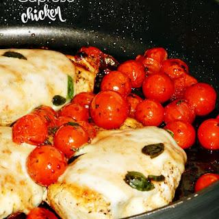 30-Minute Skillet Caprese Chicken