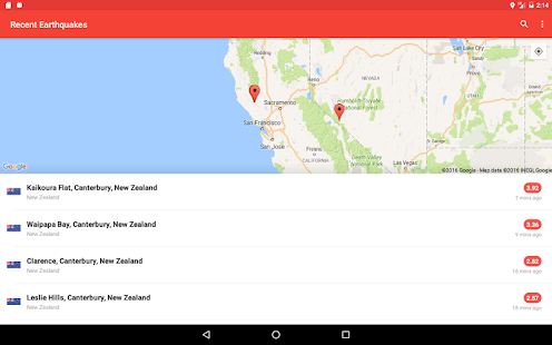 My Earthquake Alerts - US & Worldwide Earthquakes- screenshot thumbnail
