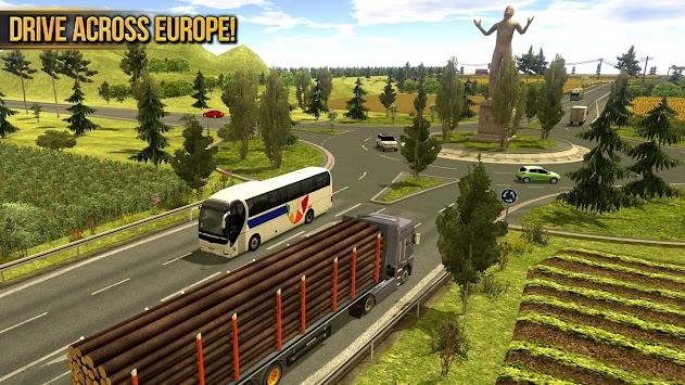 Truck Simulator 2018 : Europe APK screenshot thumbnail 3
