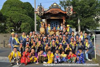 Photo: 【平成24年(2012) 宵宮】  山車の運行を前に記念撮影。