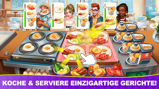 Cooking Frenzy: Der verrückte Kochspaß Screenshot