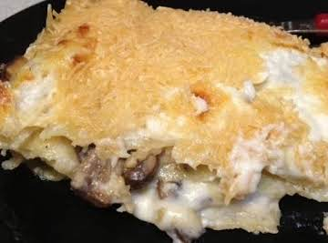 Parmesan Mushroom Lasagna