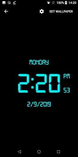 دانلود ساعت دیجیتال اندروید
