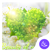 Beautiful Spring Nature-APUS Launcher theme