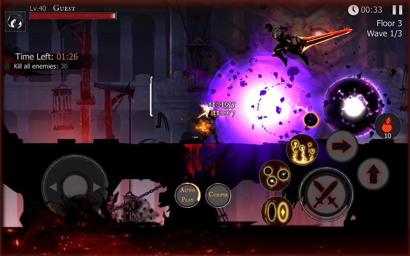Shadow of Death: Dark Knight - Stickman Fighting Screenshot 18