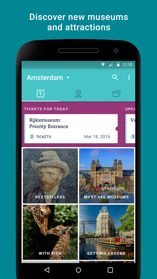 Tiqets Museums & Attractions- screenshot