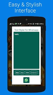 Text Styler for Whatsapp - náhled