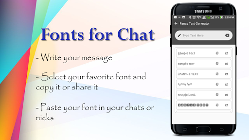 Fonts for whstApp 2019 0.0.9 screenshots 1