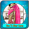 How To Wear Saree icon