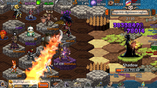 Heroes War – Idle RPG Mod Apk Download For Android and Iphone 5