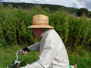 Photo: 90 ans et toujour a vélo
