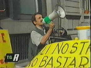 Photo: Manifestazione davanti al Tribunale per i Minorenni di Milano