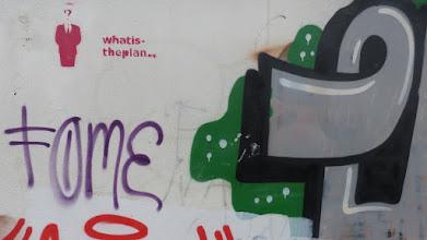 """Photo: Stencil; Unknown Artist; """"whatistheplan"""""""