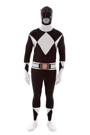 Morphsuit, Power Rangers svart