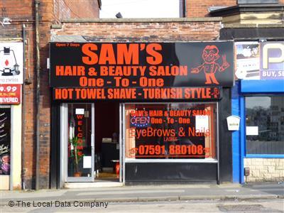 Sam S Hair Beauty Salon On Meanwood Road Salons In Headingley Leeds Ls6 4az