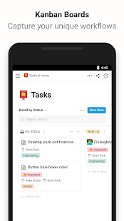 Notion - Notes, Tasks, Wikis Screenshot