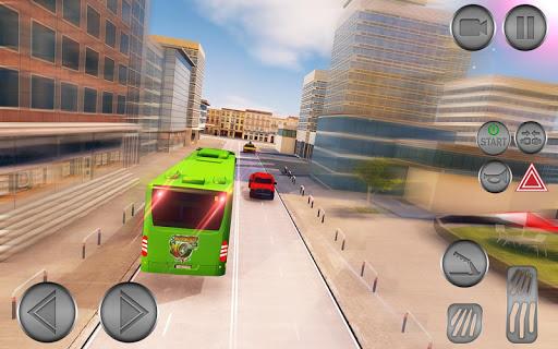 City Bus Driving School Game 3D-Coach Bus Sim 2020  screenshots 4