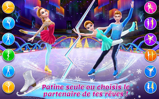 Patineuse artistique u2013 Piste des du00e9fis de danse  captures d'u00e9cran 2