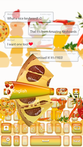 Pizza GO Keyboard