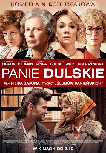 Polski plakat filmu 'Panie Dulskie'