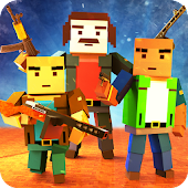 Blocky Call Hero Survival Zombie Battlefield