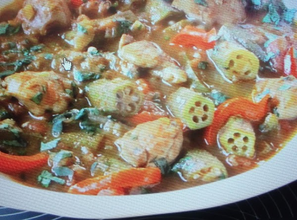 Eddies Chicken & Okra Recipe