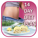 14 Day Diet Plan- lose belly fat in 2 weeks icon
