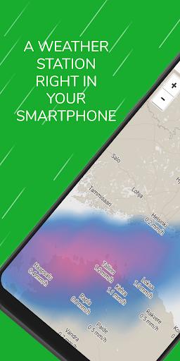 Weather Radar Free — Live Maps & Alerts screenshot 1