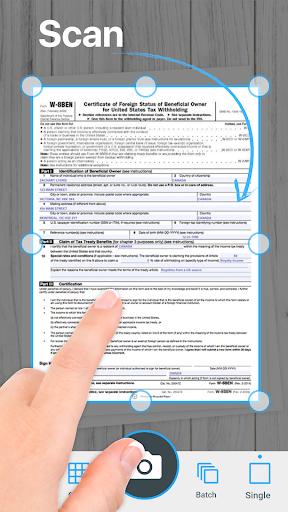 Camera Scanner To Pdf - Tap Scanner App 2.0.75 screenshots 1