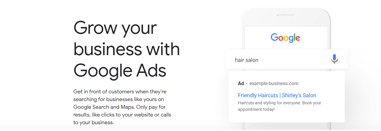 promoting an online store in Kenya using google ads
