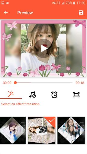 Video Maker from Photos, Music & video editor 1.0 screenshots 6